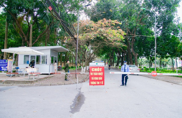 Học viện Nông nghiệp Việt Nam chung tay phòng, chống dịch Covid-19 - Ảnh 4.
