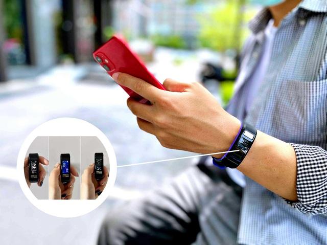 """Bật mí """"sức hút"""" của chiếc vòng tay thông minh smartband J2 - Ảnh 4."""