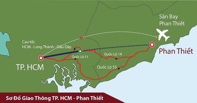 Phát triển hạ tầng – Quà tặng cơ hội cho bất động sản Phan Thiết - Ảnh 1.