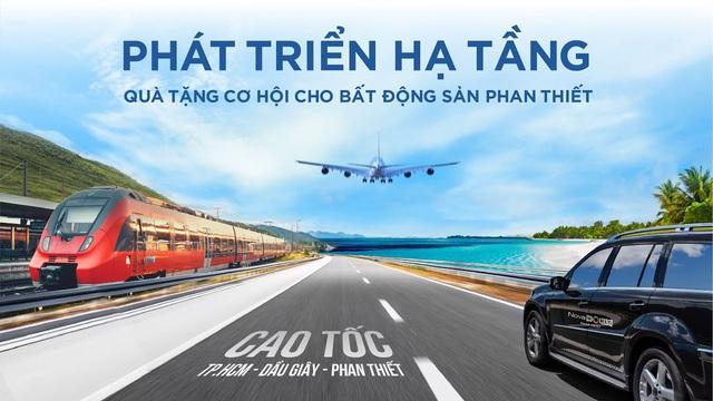 Phát triển hạ tầng – Quà tặng cơ hội cho bất động sản Phan Thiết - Ảnh 2.