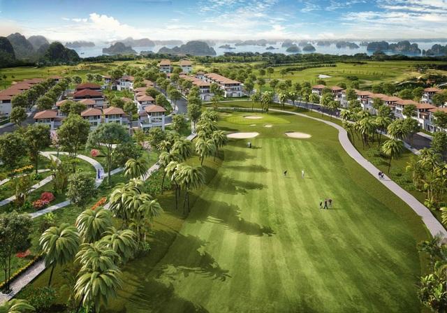 Mở bán giai đoạn cuối biệt thự đồi hướng vịnh, sân golf FLC Grand Villa Halong - Ảnh 1.