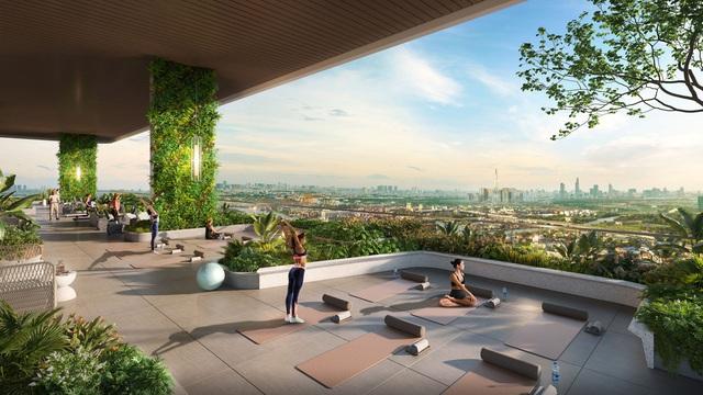 """Sắc xanh ngập tràn tại khu căn hộ """"như resort"""" nơi trung tâm TP Thủ Đức - Ảnh 1."""