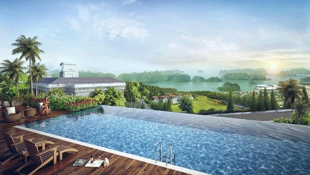 Mở bán giai đoạn cuối biệt thự đồi hướng vịnh, sân golf FLC Grand Villa Halong - Ảnh 2.