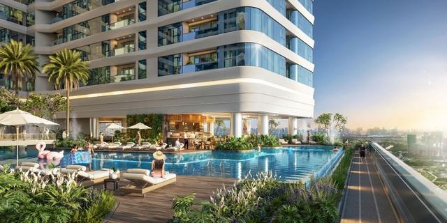 """Sắc xanh ngập tràn tại khu căn hộ """"như resort"""" nơi trung tâm TP Thủ Đức - Ảnh 2."""