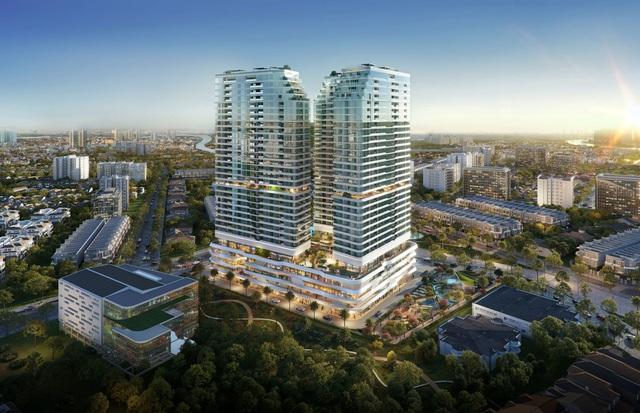 """Sắc xanh ngập tràn tại khu căn hộ """"như resort"""" nơi trung tâm TP Thủ Đức - Ảnh 4."""