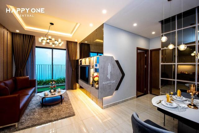 Chiêm ngưỡng căn hộ mẫu đẳng cấp của khu phức hợp Happy One-Central - Ảnh 1.