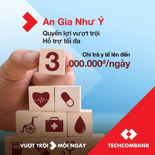 Techcombank tiên phong mang đến giải pháp bảo vệ và quyền lợi trợ cấp y tế vượt trội - Ảnh 1.