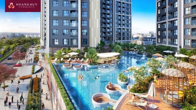 Hoang Huy Commerce - Nơi tiên phong kiến tạo đẳng cấp sống mới tại thành phố cảng - Ảnh 2.