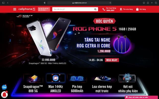 Game thủ đứng ngồi không yên khi ROG Phone 5 đã về Việt Nam - Ảnh 5.