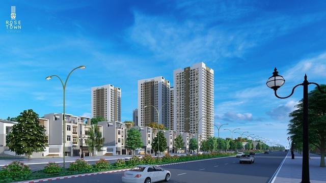 Giá nhà liên tục tăng, thị trường khan hiếm căn hộ dưới 2 tỷ như dự án Rose Town - Ảnh 1.