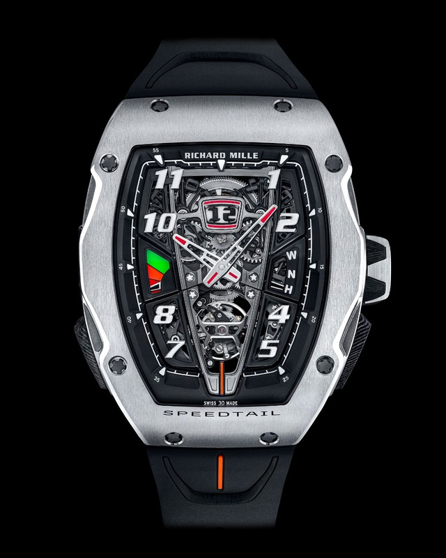 Richard Mille phá vỡ mọi giới hạn chế tác đồng hồ với RM 40-01 Automatic Tourbillon McLaren Speedtail - Ảnh 2.