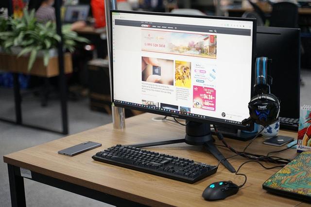 Trải nghiệm màn hình Samsung Odyssey G3: 144Hz, chống xé hình, độ trễ 1ms đúng chuẩn ngon bổ rẻ để chiến game cho đã - Ảnh 2.