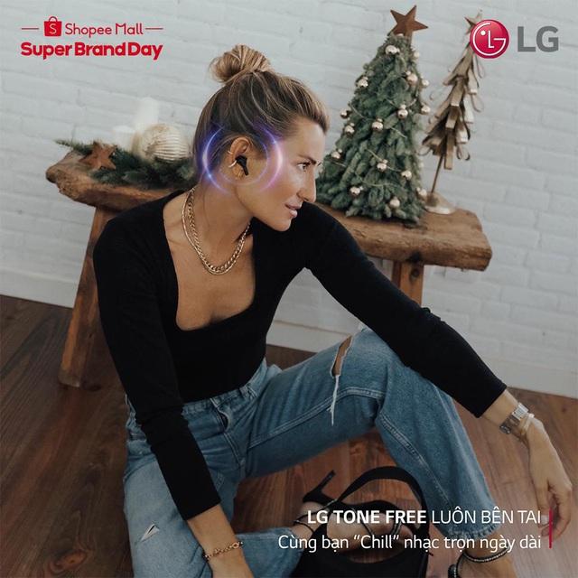 Đại tiệc mùa hè từ LG bùng nổ hàng ngàn quà tặng và voucher phủ sóng toàn Shopee - Ảnh 5.