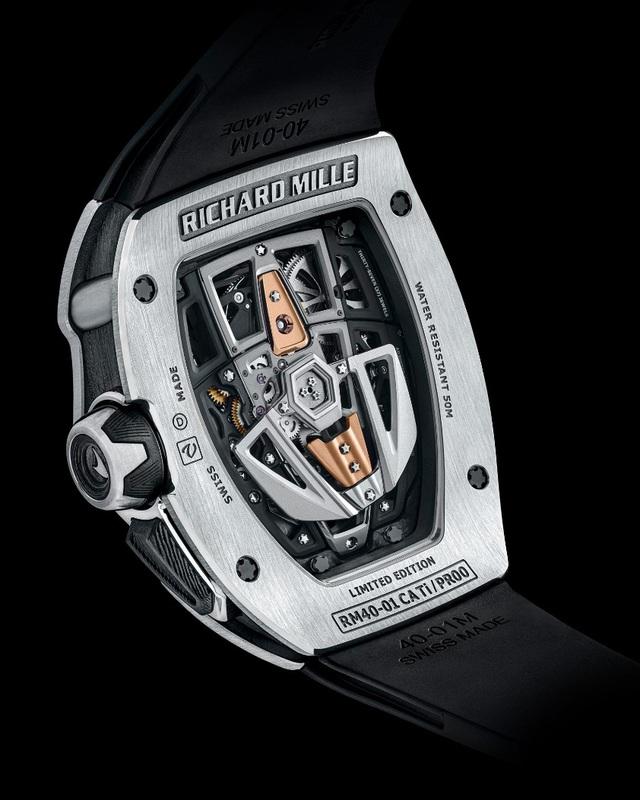 Richard Mille phá vỡ mọi giới hạn chế tác đồng hồ với RM 40-01 Automatic Tourbillon McLaren Speedtail - Ảnh 4.