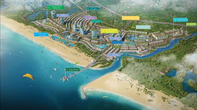 """""""Thành phố kênh đào"""" hào hoa trên cung đường biển Hồ Tràm – Bình Châu - Ảnh 2."""