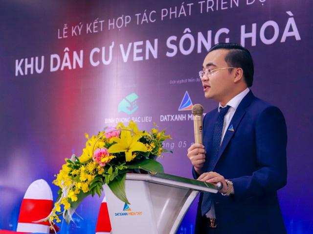 Thị trấn Hòa Bình, Bạc Liêu sắp có khu dân cư ven sông kiểu mẫu - Ảnh 2.