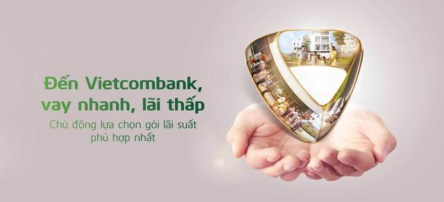 Vietcombank đồng loạt triển khai các chương trình lãi suất ưu đãi đối với khách hàng vay vốn - Ảnh 1.