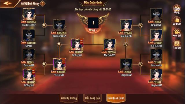 Chi tiết về Lôi Đài Đỉnh Phong - Tính năng khẳng định đẳng cấp của game thủ trong Tân OMG3Q VNG - Ảnh 7.