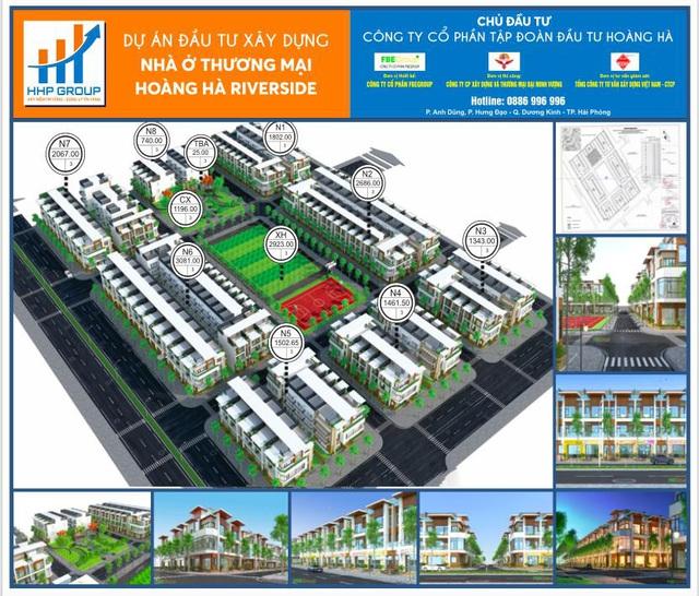 Công ty Hoàng Hà là chủ đầu tư dự án nhà ở thương mại 2,7ha tại Hải Phòng - Ảnh 1.