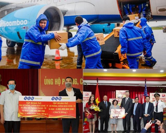 Các tập đoàn lớn Việt Nam chung tay chống dịch - Ảnh 2.