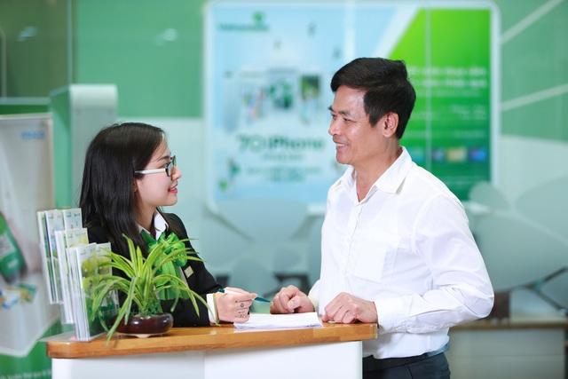 Vietcombank đồng loạt triển khai các chương trình lãi suất ưu đãi đối với khách hàng vay vốn - Ảnh 2.