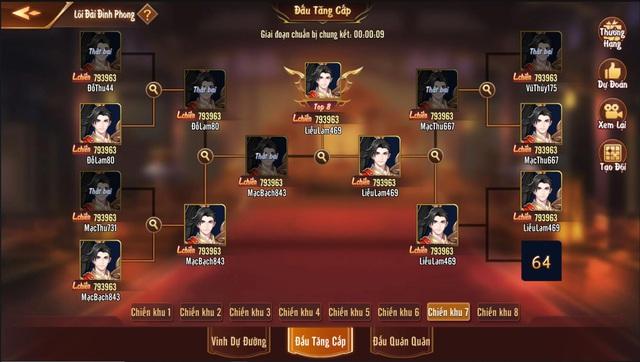 Chi tiết về Lôi Đài Đỉnh Phong - Tính năng khẳng định đẳng cấp của game thủ trong Tân OMG3Q VNG - Ảnh 3.