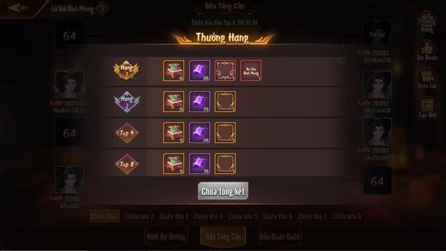 Chi tiết về Lôi Đài Đỉnh Phong - Tính năng khẳng định đẳng cấp của game thủ trong Tân OMG3Q VNG - Ảnh 9.