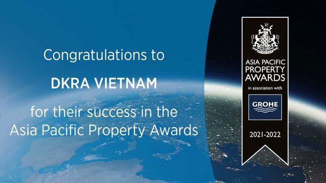Khẳng định giá trị khác biệt, DKRA Vietnam thắng lớn tại Asia Pacific Property Awards - Ảnh 3.