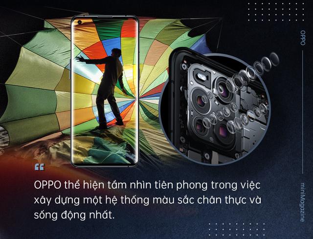 OPPO Find X3 Pro 5G mở ra kỷ nguyên 1 tỷ sắc màu mới cho smartphone Android - Ảnh 5.