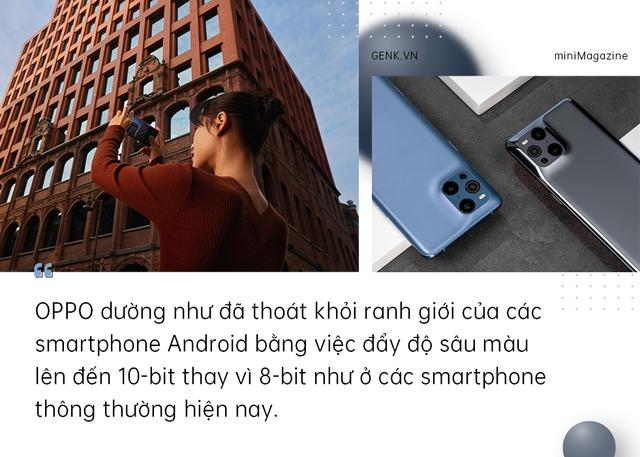 OPPO Find X3 Pro 5G mở ra kỷ nguyên 1 tỷ sắc màu mới cho smartphone Android - Ảnh 10.