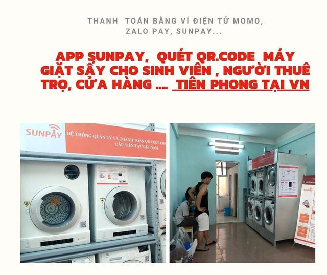 SunPay - Grab, Uber.... trong lĩnh vực giặt sấy tự động - Ảnh 1.