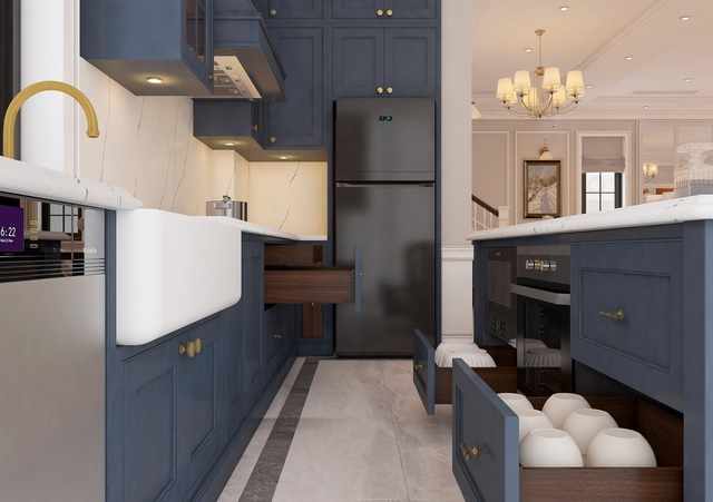 King Place Luxury Interior - Nâng thiết kế Bespoke lên tầm cao mới - Ảnh 2.