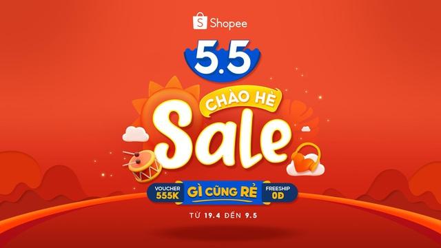 Shopee 5.5 Sale Chào Hè: Canh giờ săn sale hàng đỉnh giá hời còn kèm ưu đãi - Ảnh 10.
