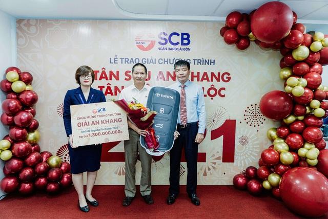 """SCB tổ chức lễ trao giải chương trình """"Tân Sửu an khang – Tân niên vạn lộc"""" - Ảnh 1."""
