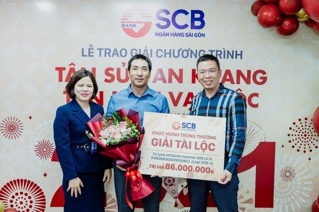 """SCB tổ chức lễ trao giải chương trình """"Tân Sửu an khang – Tân niên vạn lộc"""" - Ảnh 2."""