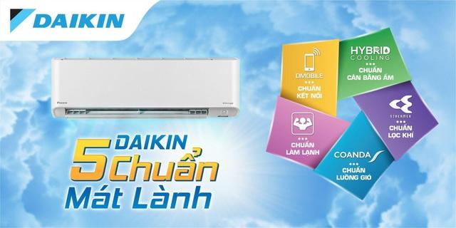 5 chuẩn mát lành trên điều hoà Daikin mới thu hút người dùng - Ảnh 1.