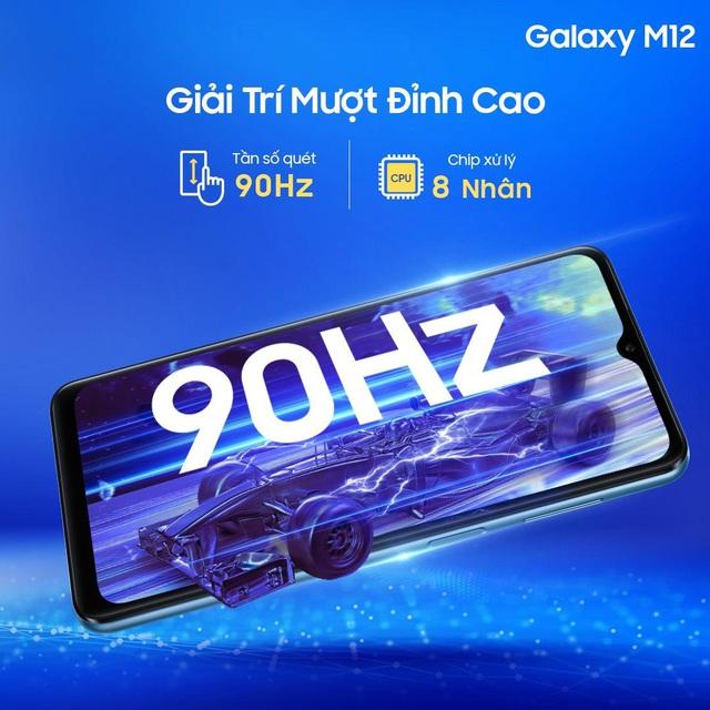 """Lợi đơn lợi kép khi săn """"mãnh thú"""" Galaxy M12 trên Shopee - Ảnh 1."""