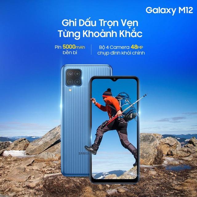 """Lợi đơn lợi kép khi săn """"mãnh thú"""" Galaxy M12 trên Shopee - Ảnh 2."""