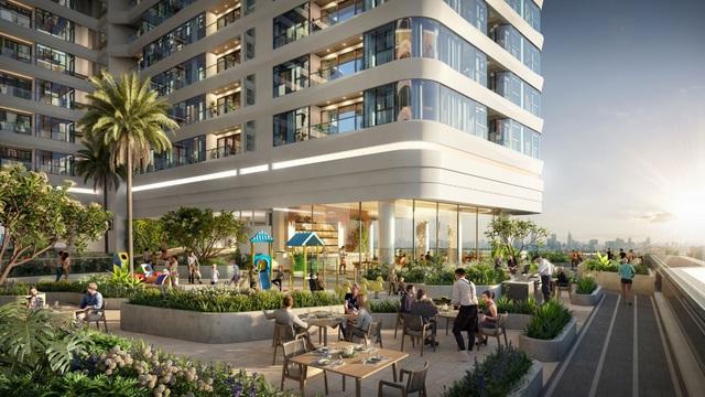 Tận hưởng cuộc sống hoàn mỹ nơi trung tâm thành phố tại King Crown Infinity - Ảnh 2.