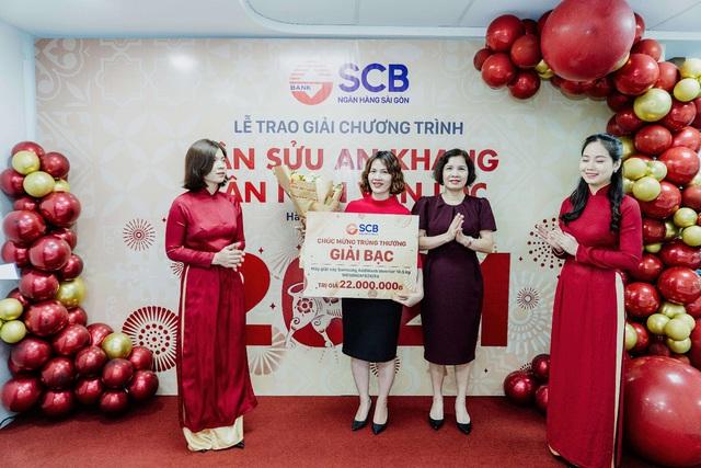 """SCB tổ chức lễ trao giải chương trình """"Tân Sửu an khang – Tân niên vạn lộc"""" - Ảnh 3."""