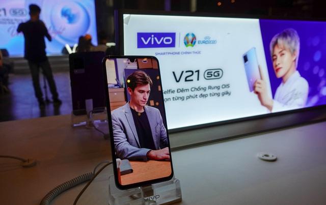 Chỉ trong 7 ngày, ưu đãi tới 1.500.000đ khi đặt trước vivo V21 5G tại Viettel Store - ảnh 3