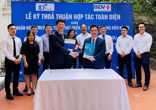 IDJ Real và BIDV ký thoả thuận hợp tác toàn diện - Ảnh 1.
