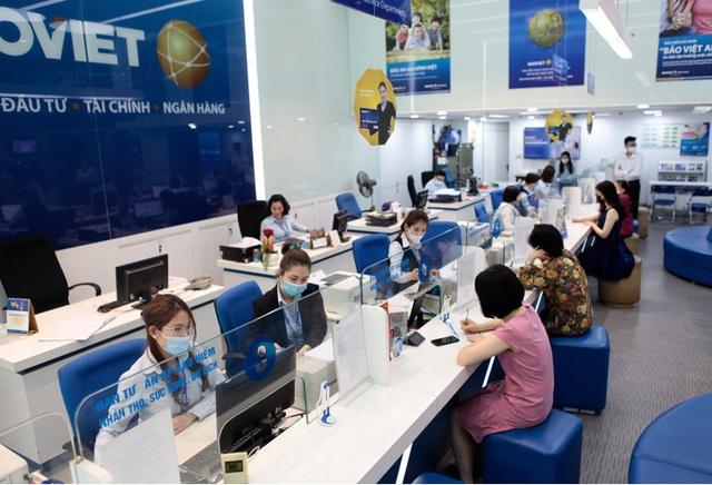 BAOVIET Bank miễn phí rút tiền cho khách hàng của Công ty Chứng khoán Bảo Việt - Ảnh 1.