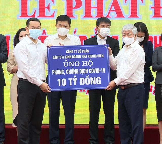 Khang Điền ủng hộ 20 tỷ đồng mua vaccine phòng chống dịch Covid-19 - Ảnh 1.