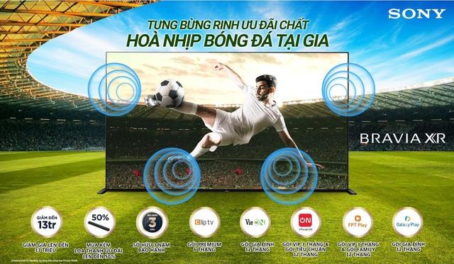 Sony Việt Nam ra mắt chương trình khuyến mãi hấp dẫn chào đón giải vô địch bóng đá Châu Âu 2021 - Ảnh 1.