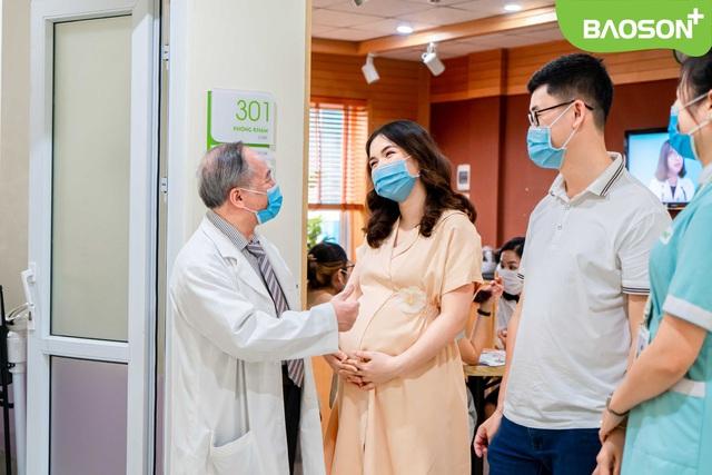 """Chị gái Hòa Minzy tiếp tục xin """"vía"""" bác sĩ cho lần sinh thứ 2 - ảnh 2"""
