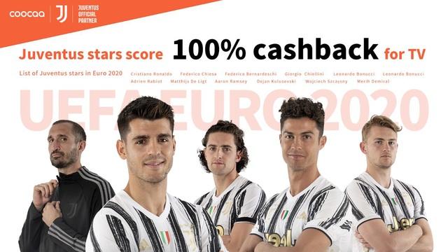 coocaa TV công bố hợp tác thương hiệu với câu lạc bộ bóng đá hàng đầu thế giới Juventus để phát triển phạm vi toàn cầu - ảnh 1