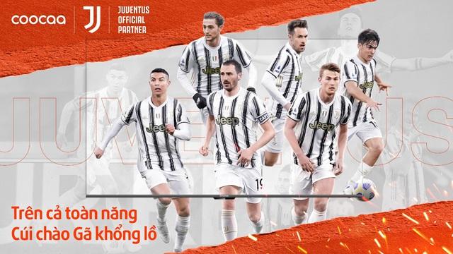 coocaa TV công bố hợp tác thương hiệu với câu lạc bộ bóng đá hàng đầu thế giới Juventus để phát triển phạm vi toàn cầu - ảnh 2