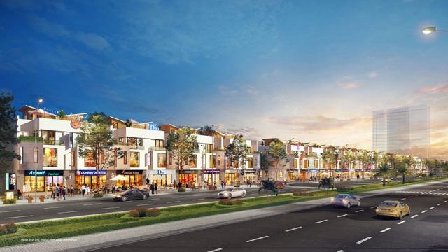 Đón đầu quy hoạch, khu nam thành Vinh nhộn nhịp giao dịch phân khúc shophouse - Ảnh 2.