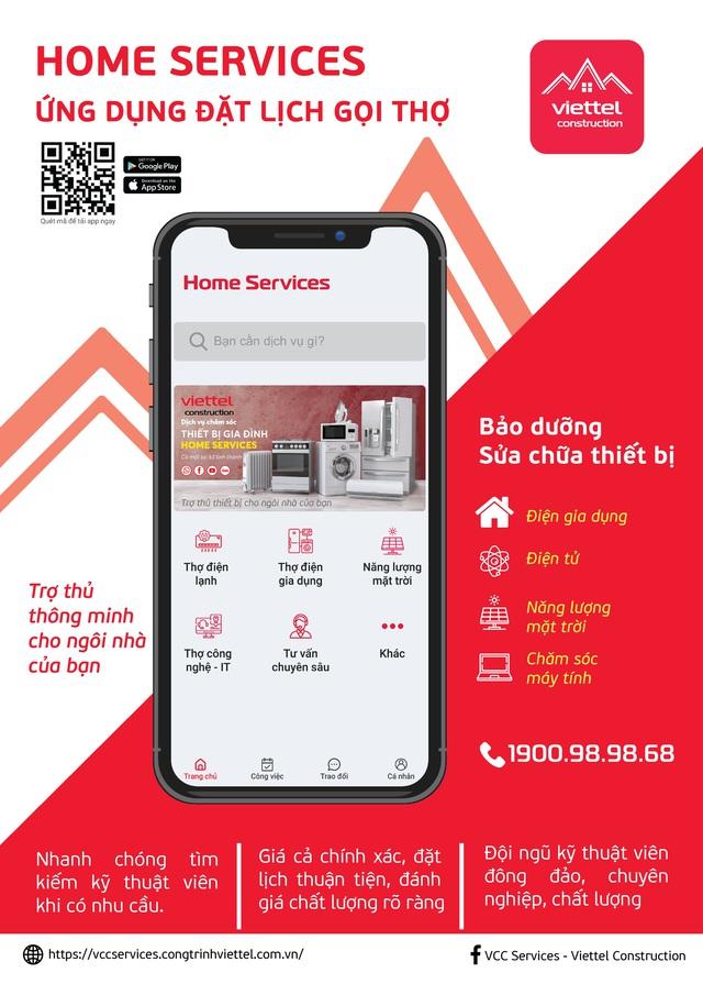 """Ứng dụng """"Home Services"""": Trợ lý thiết thực bên mỗi gia đình Việt - Ảnh 2."""
